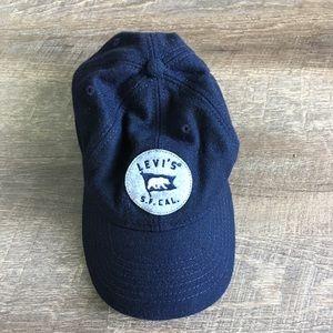 Levis S.F. Cal Hat Navy Blue, Women's,Mens,